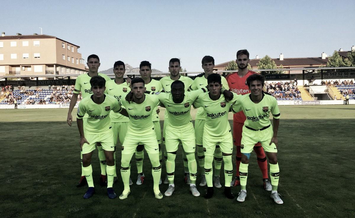"""Alcoyano-FC Barcelona """"B"""": puntuaciones de los jugadores culés"""