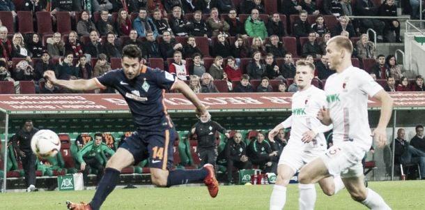 FC Augsburg 1-2 Werder Bremen: Green-whites secure vital three points as hosts stay bottom
