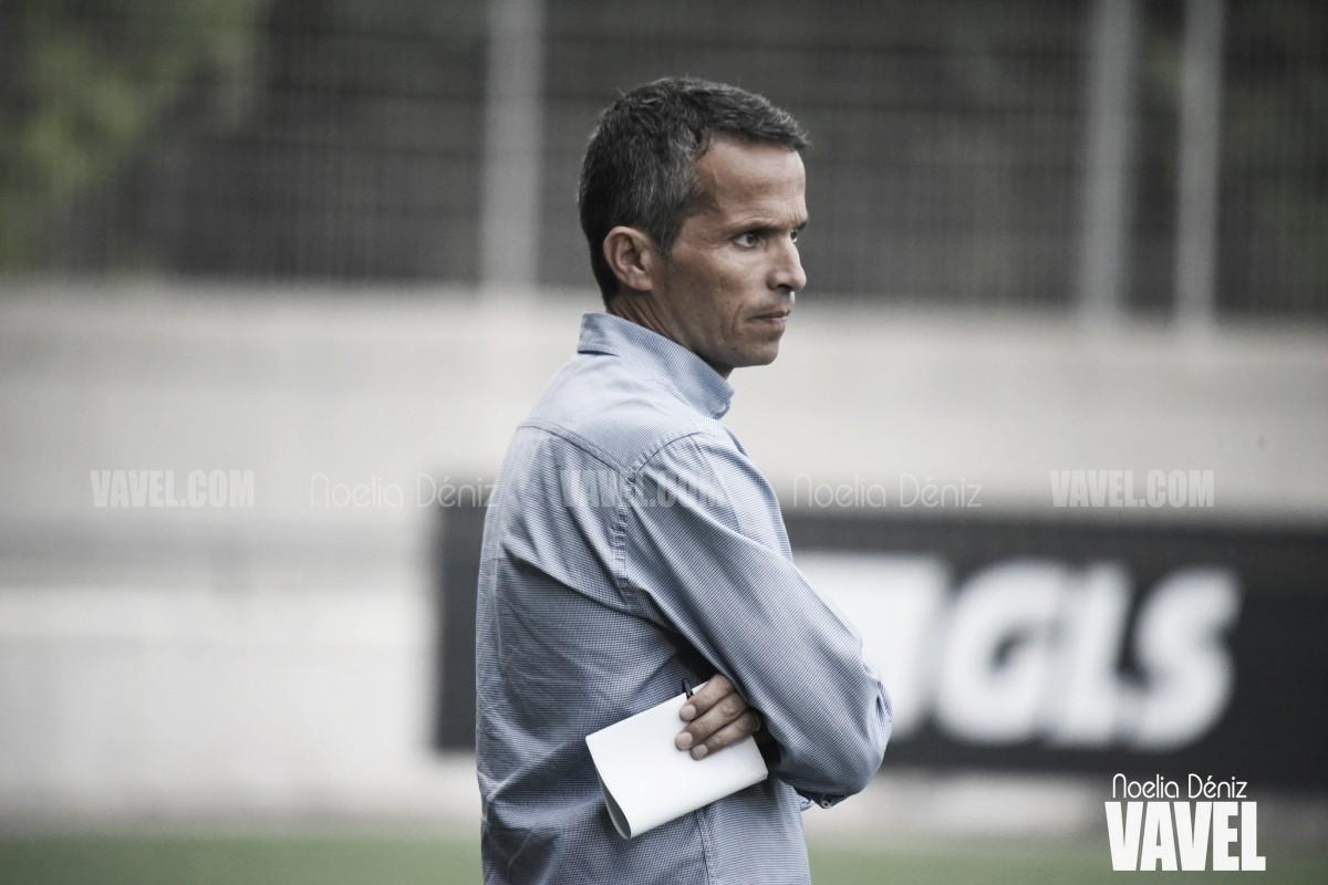 """Xavi Bartolo: """"Los jugadores han dado la cara"""""""