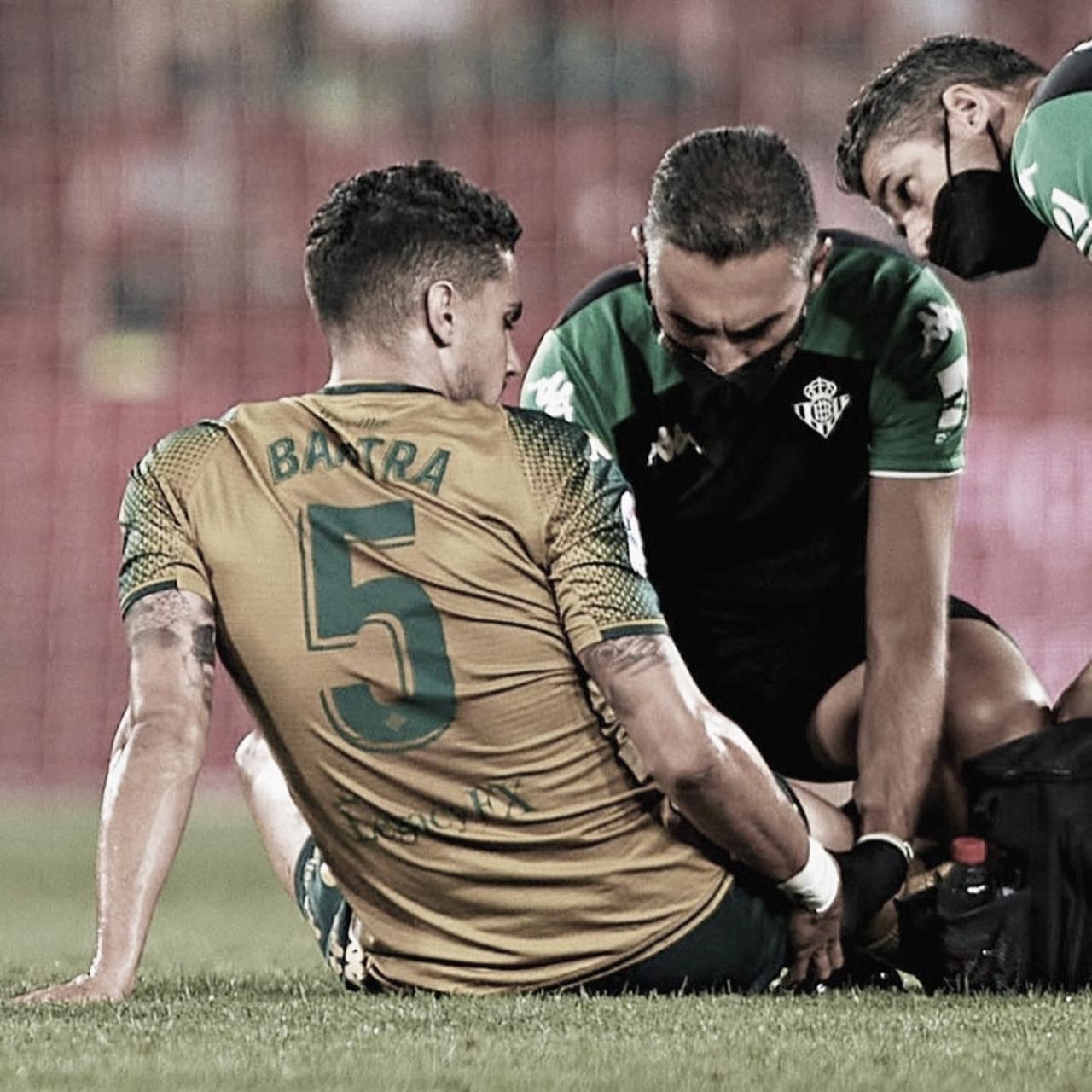 Bartra se marchó lesionado en Granada