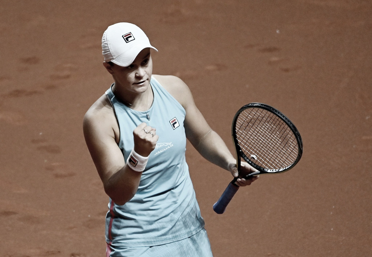 Barty vence 'freguesa' Rogers na estreia do WTA 1000 de Madrid