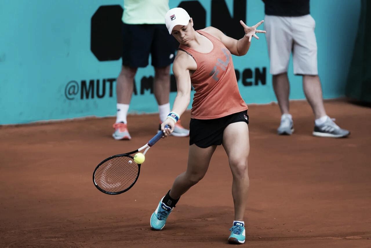 Barty passa por cima de Gavrilova e está na segunda rodada em Madrid