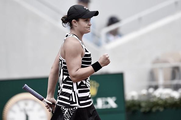 Barty alcanza su primera semifinal de Grand Slam en Roland Garros