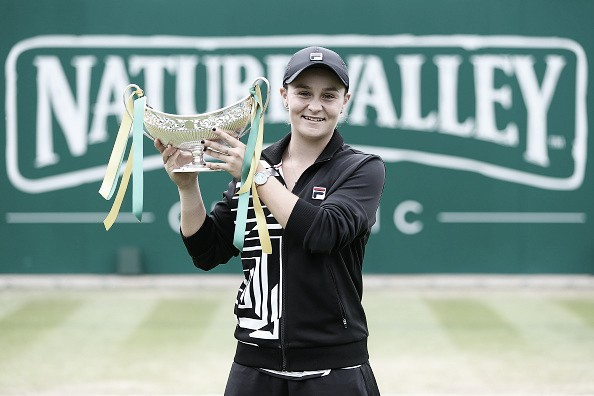 Actualización ránking WTA 24 de junio: Barty alcanza la cima