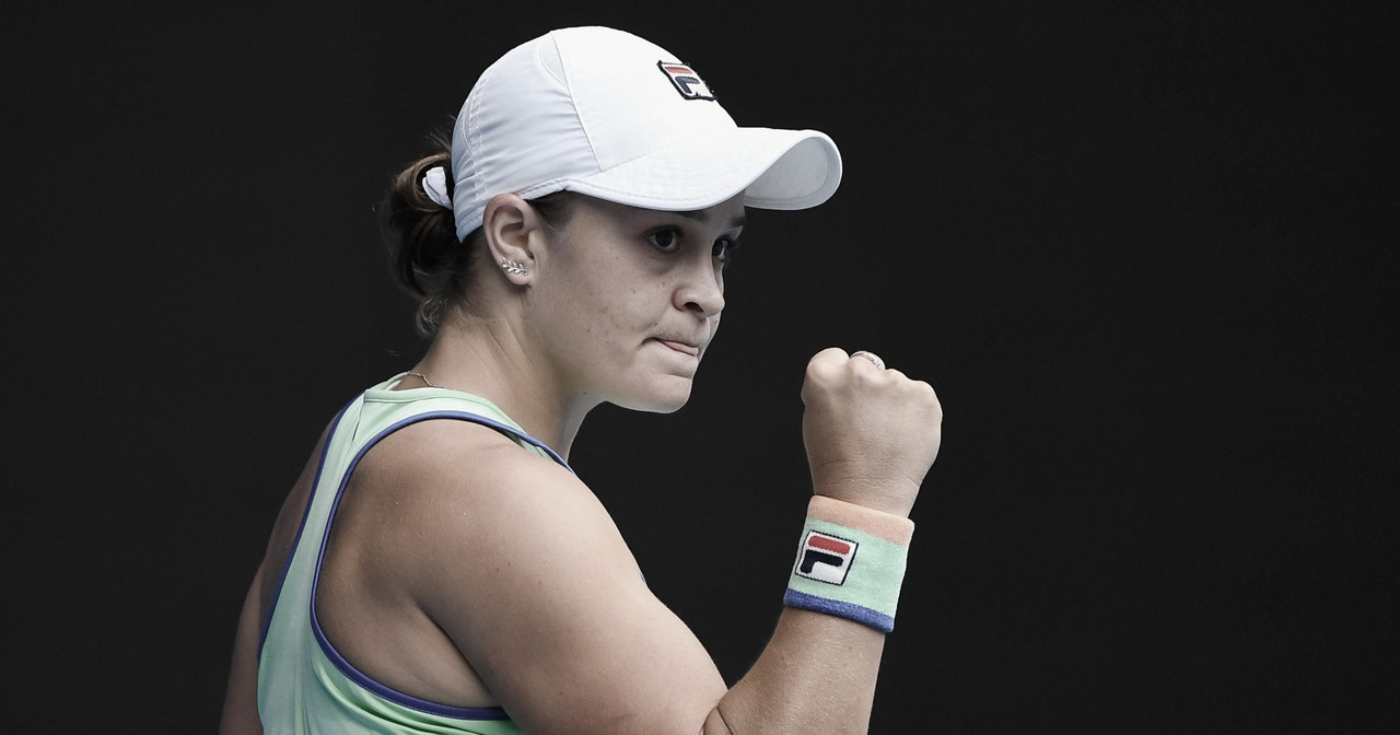 Barty começa mal, mas vence Rybakina e avança no Australian Open