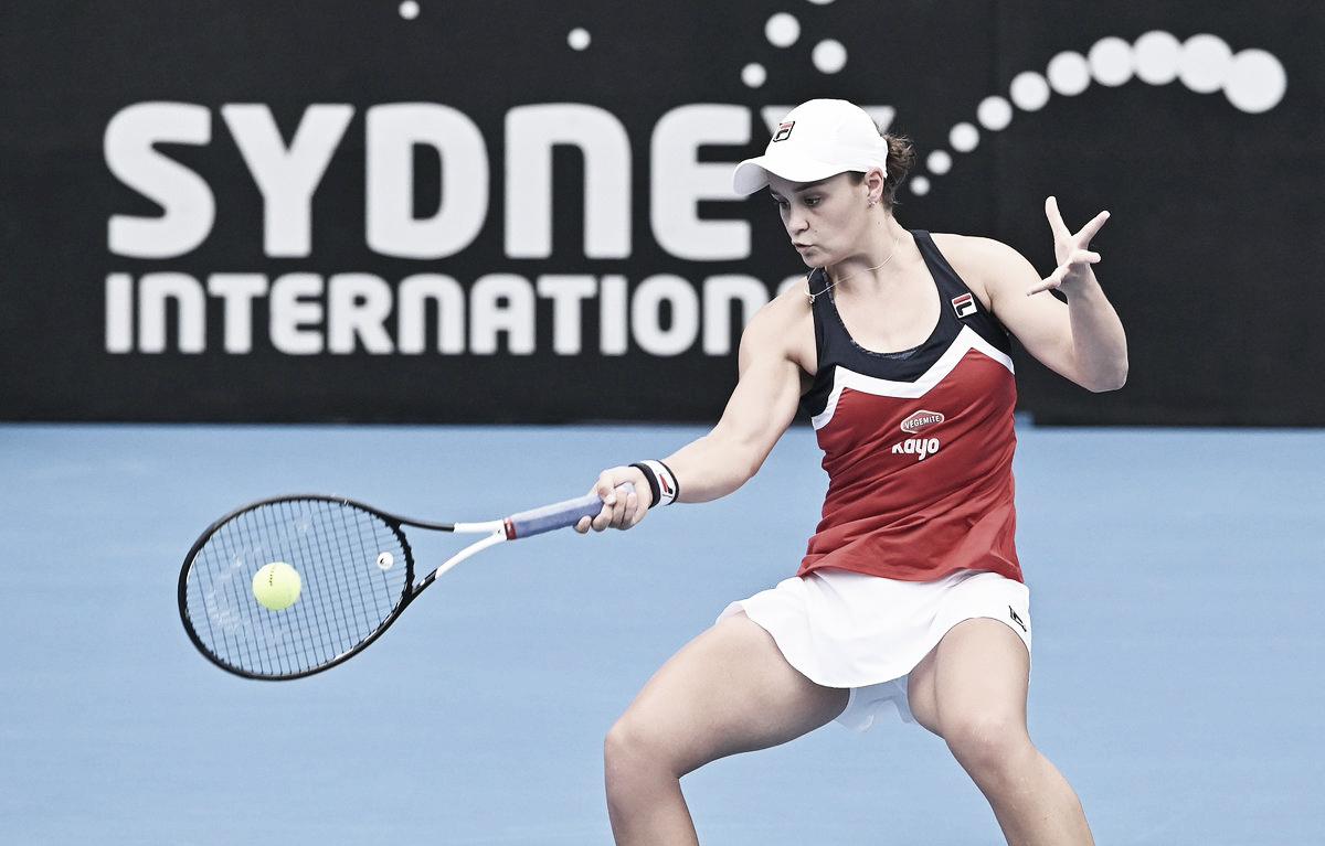 Barty supera Bertens em jogo de alta qualidade e volta à decisão em Sydney