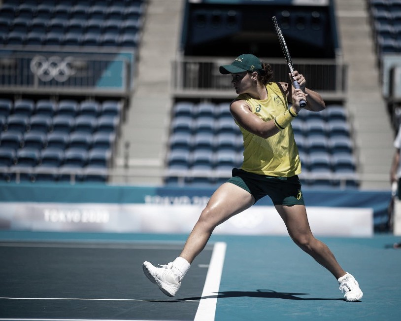 Barty, en inédito duelo olímpico con Sara Sorribes