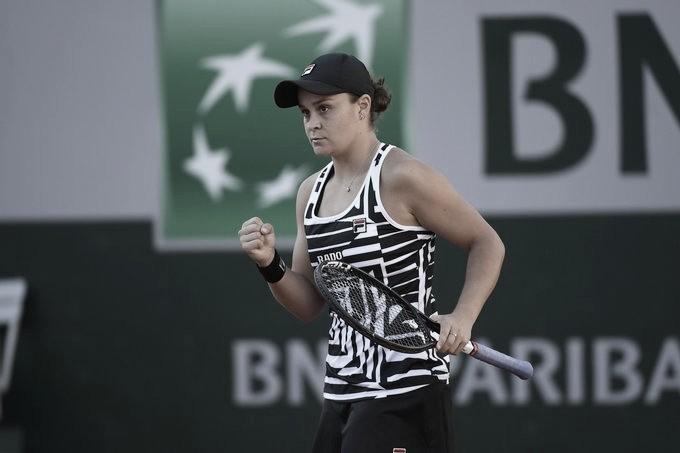 Barty vence Kenin em Roland Garros e vai à segunda quarta de final de Major em sequência