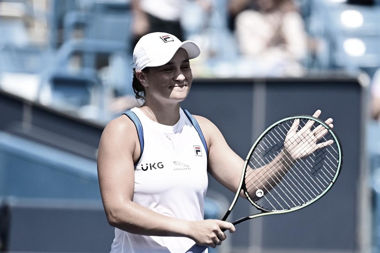 Barty se impõe contra Krejcikova e é primeira semifinalista do WTA 1000 de Cincinnati
