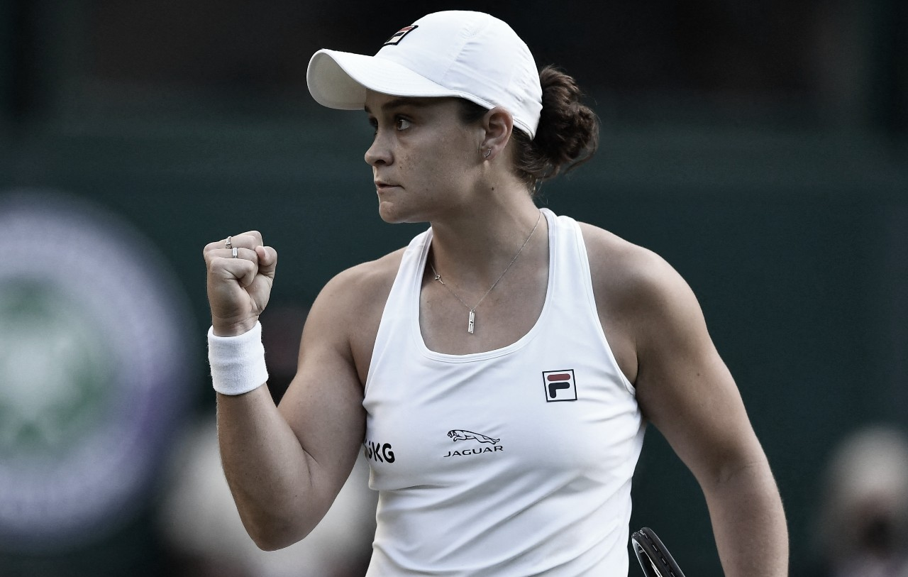 Barty bate Siniakova e vai às oitavas em Wimbledon; Krejcikova vence 15ª seguida