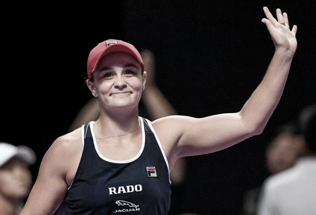 Barty acaba com freguesia contra Svitolina e conquista WTA Finals
