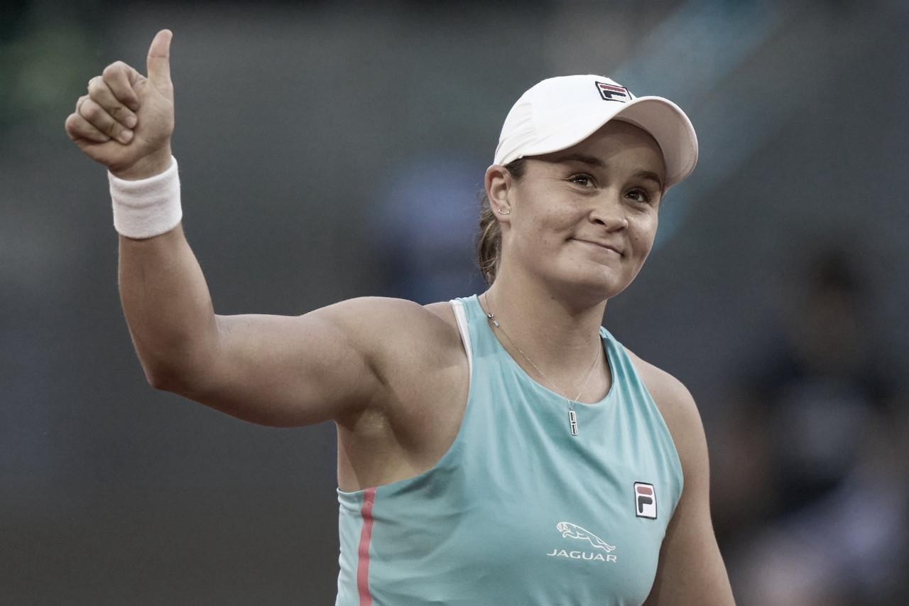 Barty derrota Swiatek e enfrenta Kvitova nas quartas em Madrid