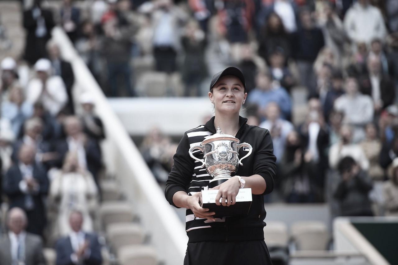 Barty domina Vondrousova, conquista Roland Garros e assume vice-liderança do ranking da WTA