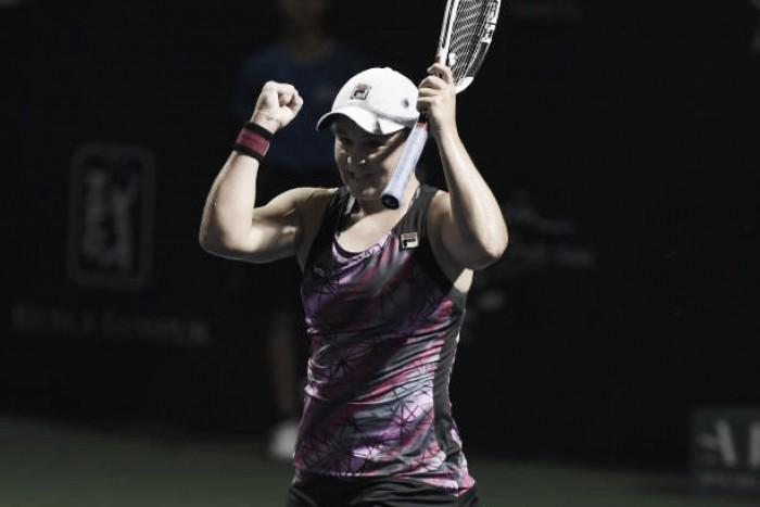 WTA Strasbourg: Ashleigh Barty storms past Camila Giorgi