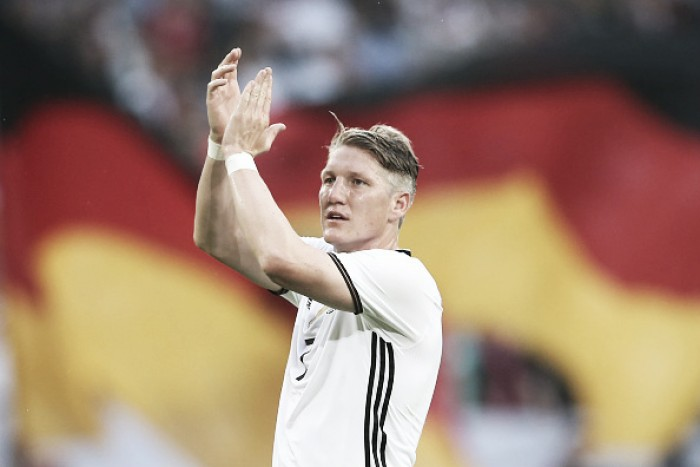 Germany captain Bastian Schweinsteiger announces international retirement