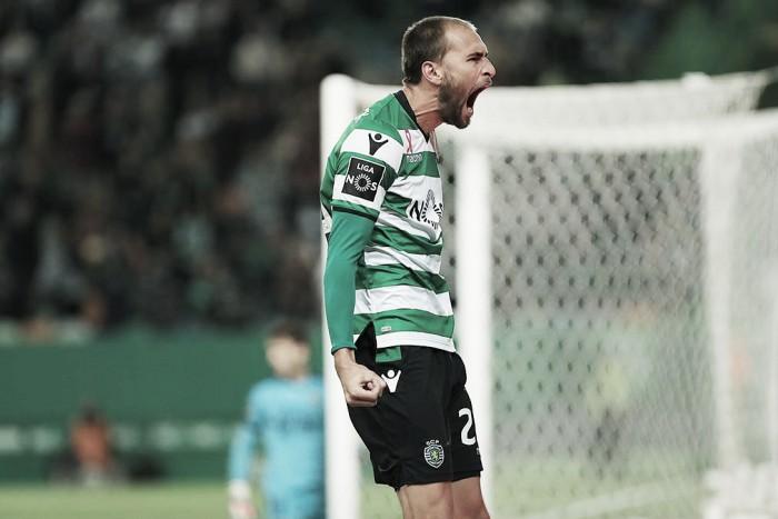 Sporting vence al Olympiacos y sueña con los octavos