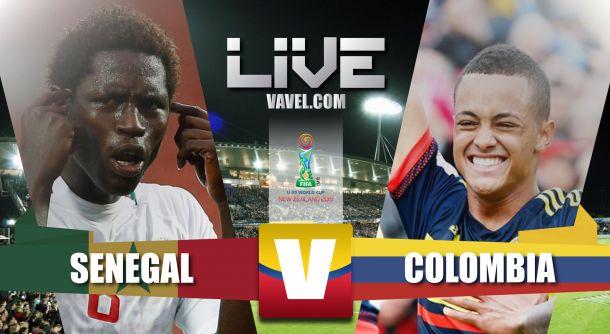 Resultado Senegal - Colombia en el Mundial Sub-20 2015 (1-1)