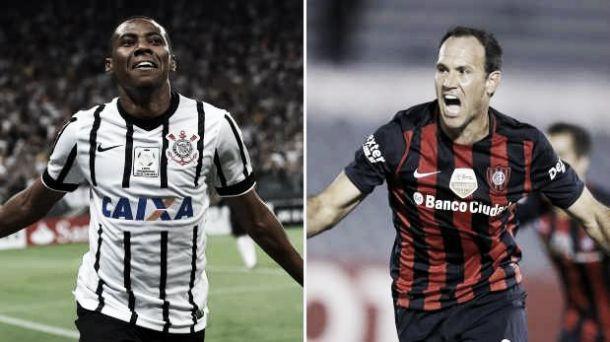 Resultado Corinthians - San Lorenzo en la Copa Libertadores 2015(0-0)
