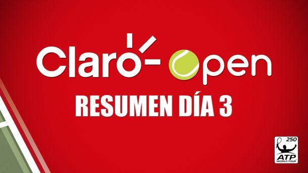 Las promesas de Colombia a segunda ronda: Resumen día 3 del Claro Open Colombia