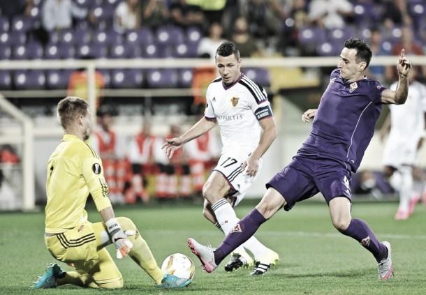Match FC Basel vs Fiorentina Live Score Stream Commentary of Europa League 2015 (0-0)