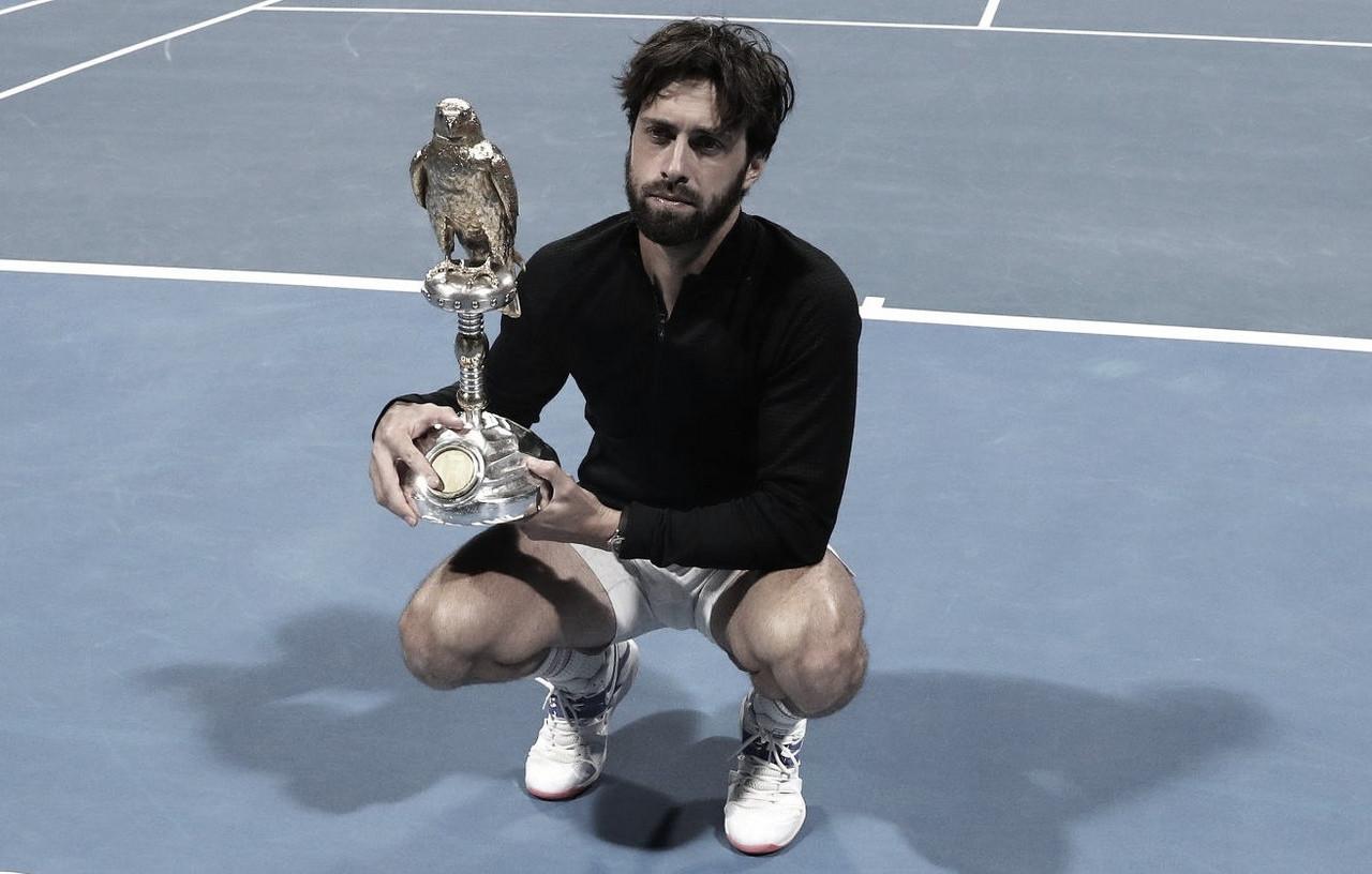 Basilashvili se consagra en Doha
