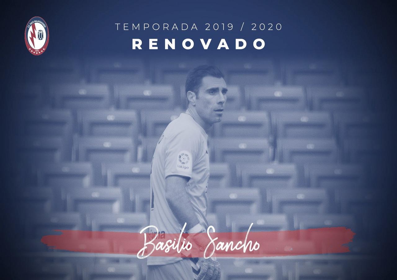Basilio, primera renovación del CF Rayo Majadahonda