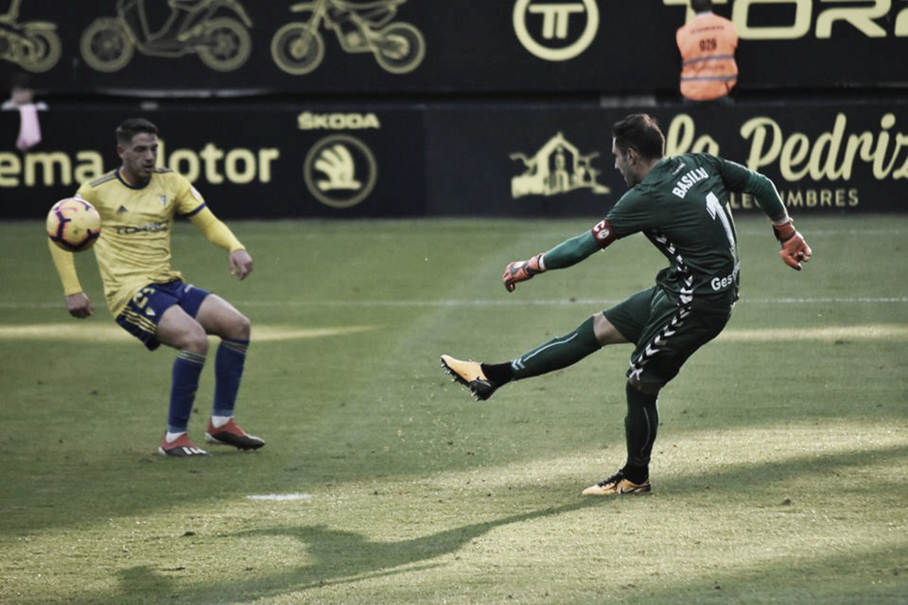Basilio, 'MVP' del Cádiz - Rayo Majadahonda