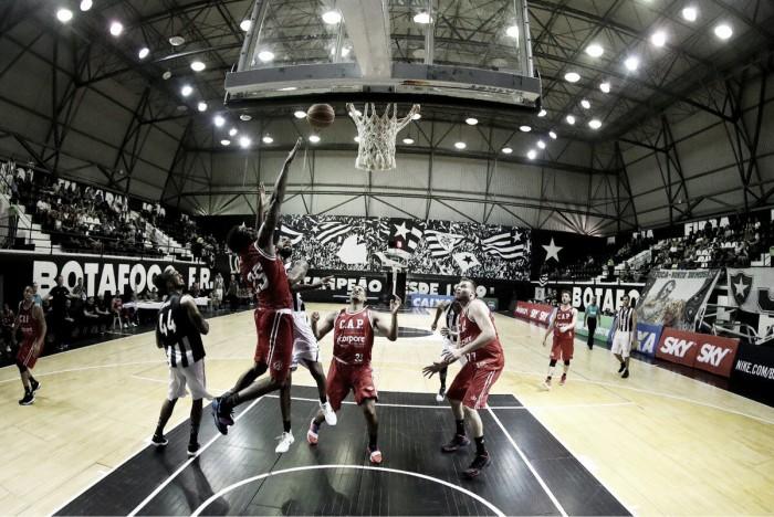 Paulistano se impõe e Botafogo segue isolado na lanterna do NBB