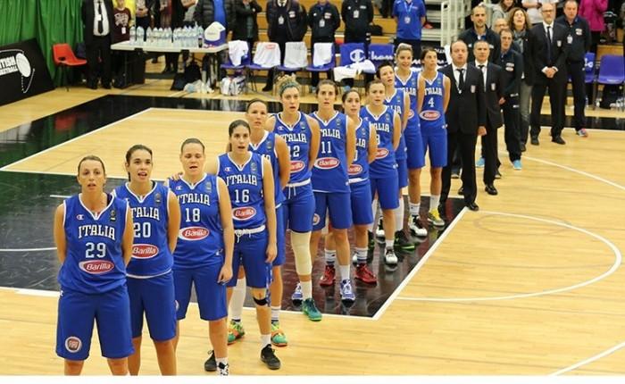 Nazionale Femminile, verso l'EuroBasket Women 2017: le convocate per il raduno