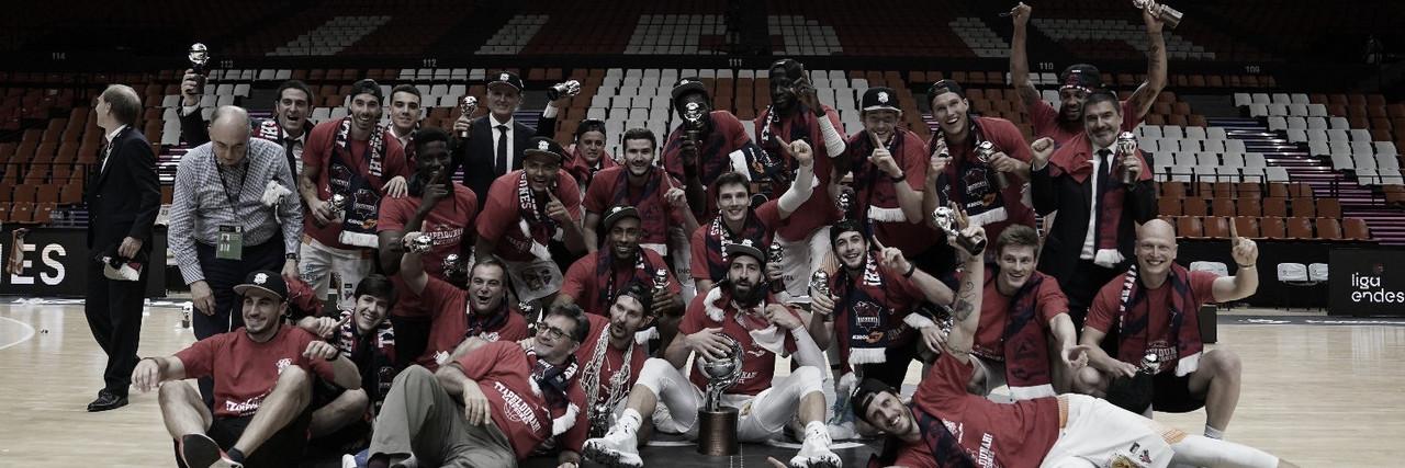 Baskonia, campeón de Liga tras superar al Barcelona en un final de infarto