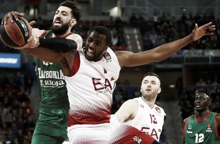 EuroLeague - L'Olimpia Milano dura un tempo, poi c'è solo Baskonia