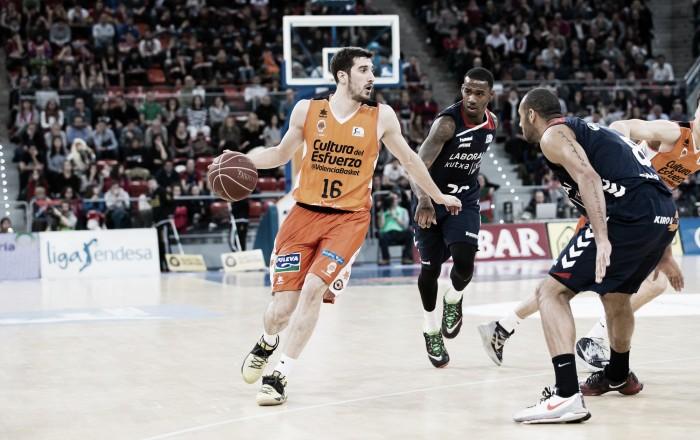 Baskonia, único equipo capaz de ganar a Valencia Basket en la ACB