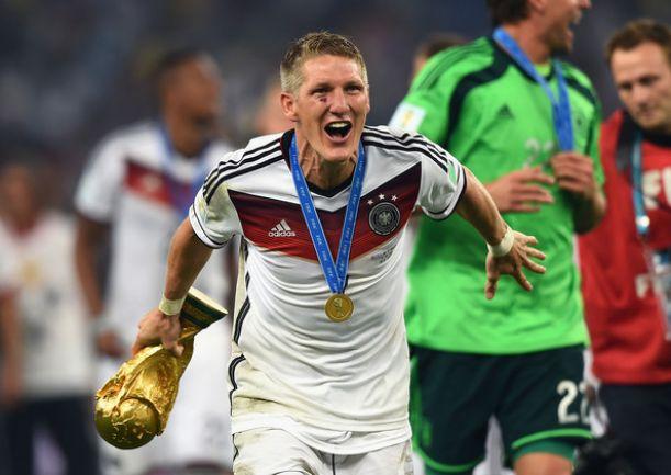 """Schweinsteiger il guerriero: """"Ho dato anche il sangue per la coppa"""""""