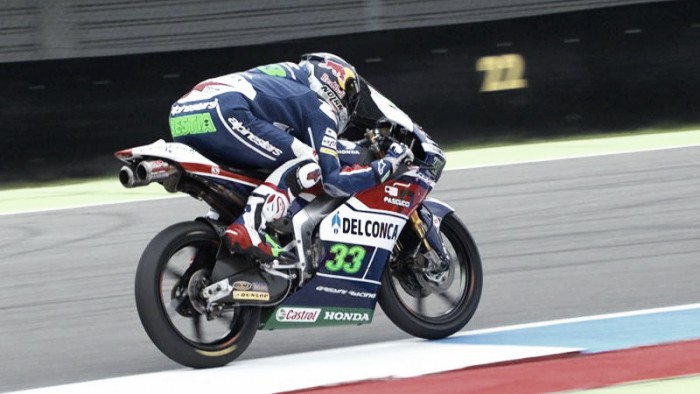 Moto3: Bastianini claims pole after rain began to fall in Assen