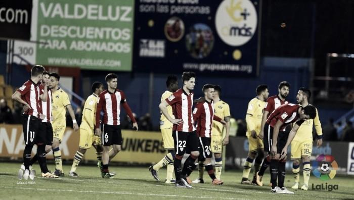 El Bilbao Athletic se hunde en Santo Domingo