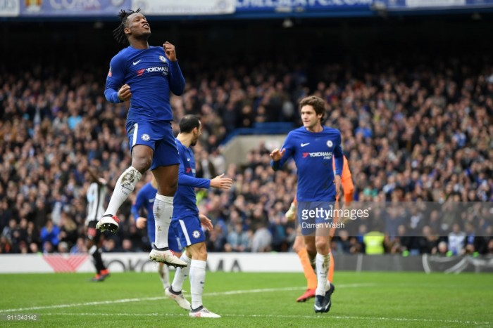 Chelsea 3-0 Newcastle United: Batshuayi brace clinches Chelsea's route to round four