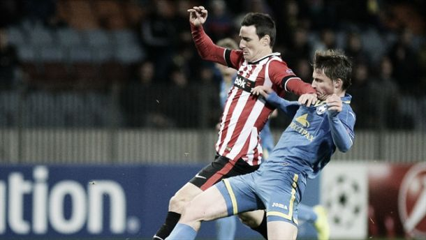 El Athletic se ahoga en Borisov