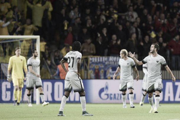 Bate show in mezz'ora, alla Roma non basta la rimonta: Mladenovic condanna i capitolini (3-2)
