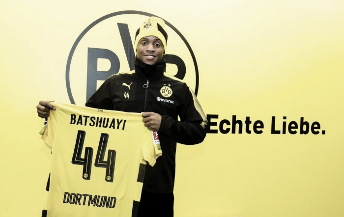 Encostado no Chelsea, Batshuayi chega ao Borussia Dortmund por empréstimo