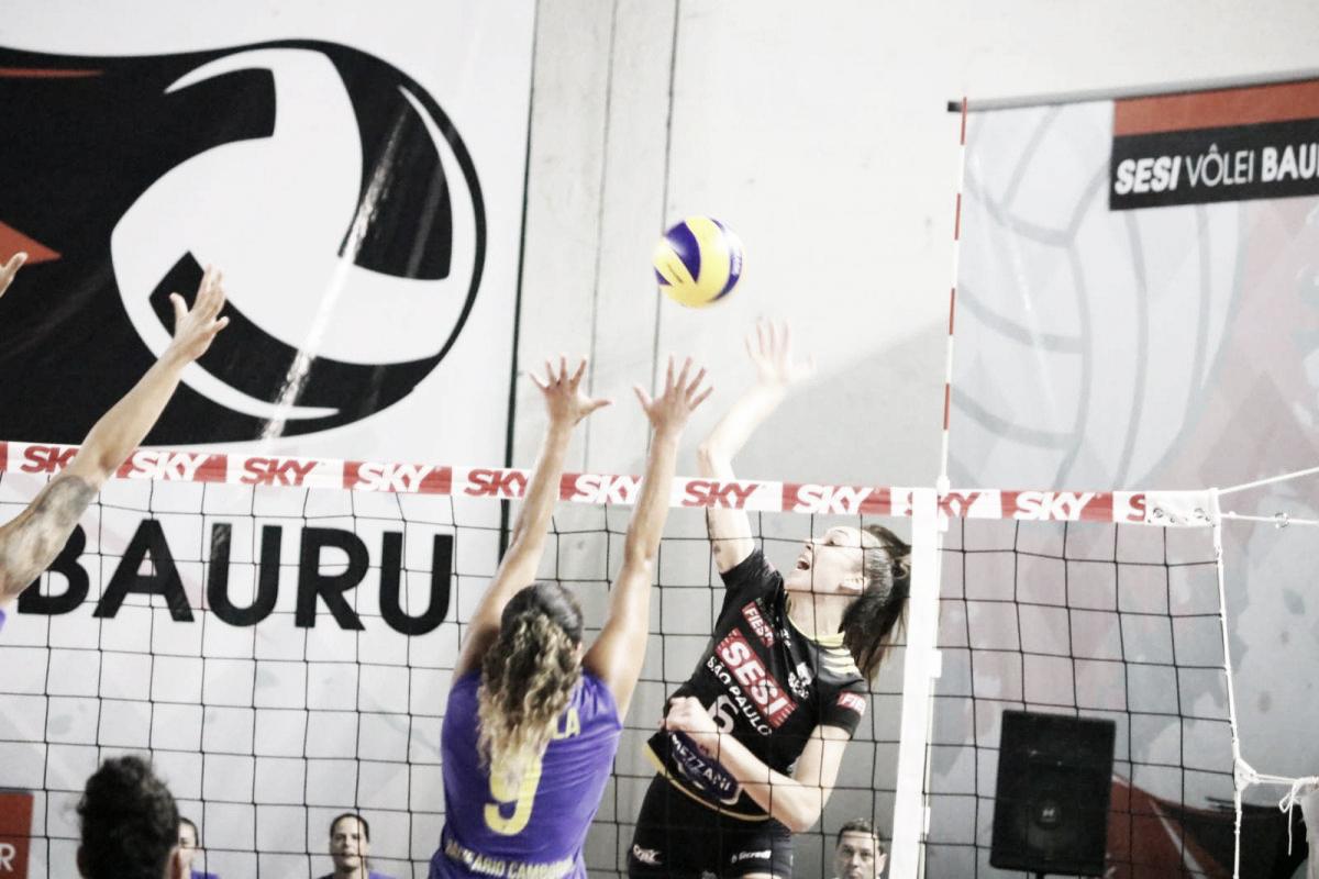 Fora de casa, Sesi Bauru derrota lanterna Camboriú pela Superliga