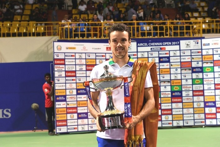 ATP Chennai: Roberto Bautista Agut claims title with win over Daniil Medvedev