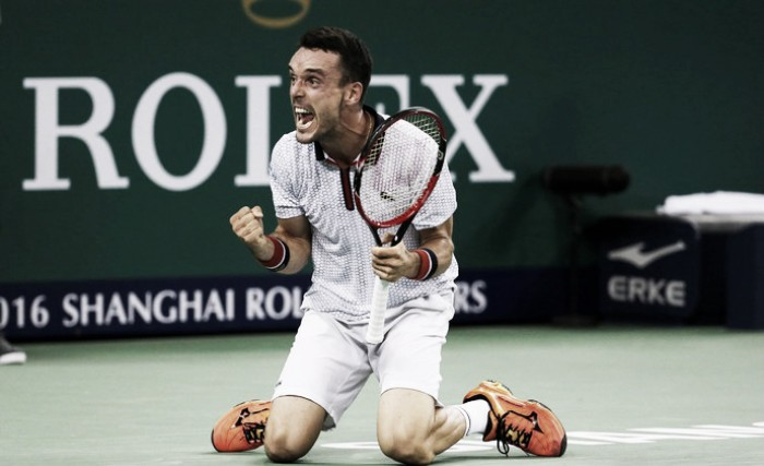 Bautista Agut surpreende Djokovic e está na final do Masters 1000 de Xangai