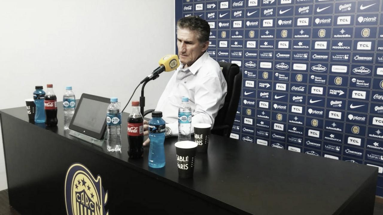 """Bauza, luego del empate frente a Colón: """"Hay que seguir trabajando para que el equipo mejore"""""""