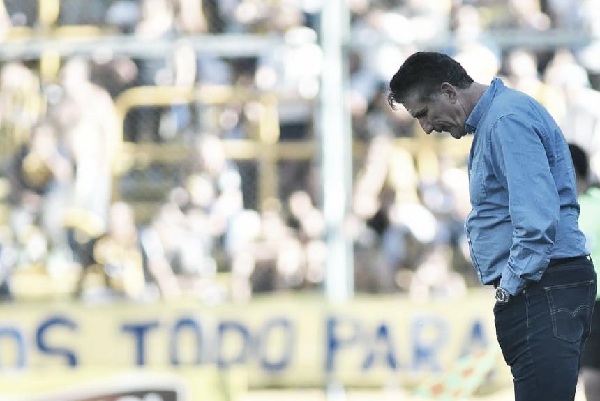 """Edgardo Bauza: """"Ruben está descartado por una molestia muscular"""""""