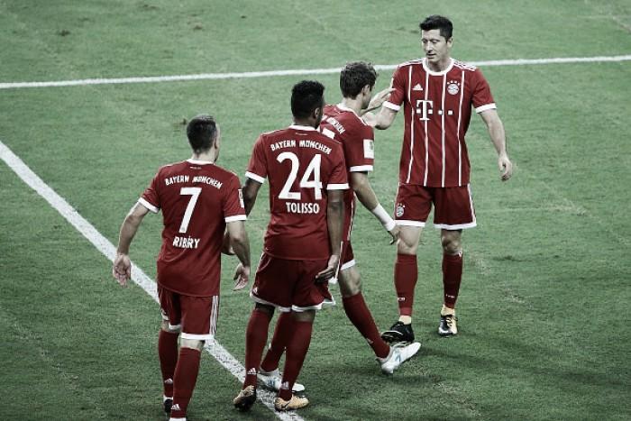 Com dois de Müller, Bayern derrota Chelsea em final eletrizante pela Champions Cup