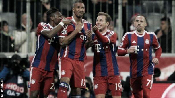 Bayern Munich 7-0 Shakhtar Donetsk: Guardiola's men hammer ten-man Ukranians