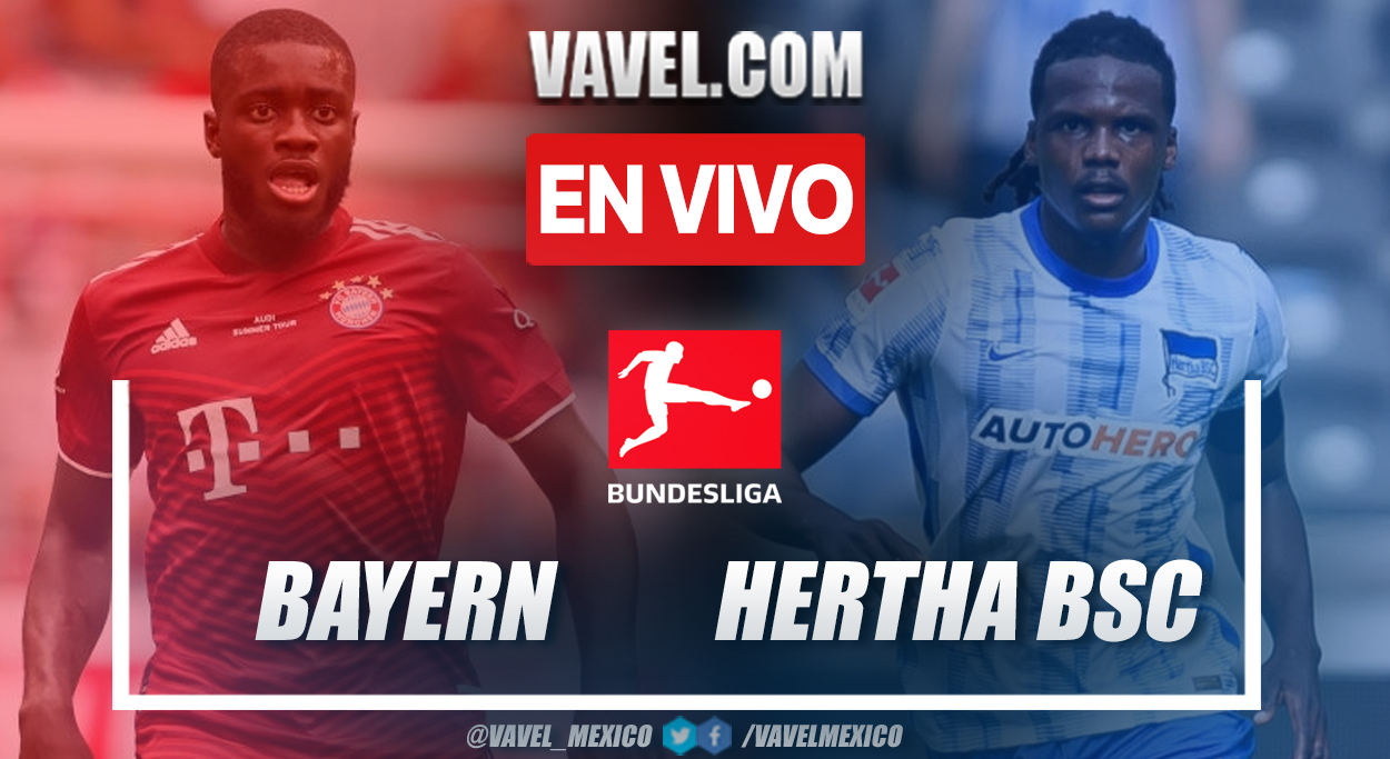 Resumen y goles: Bayern Múnich 5-0 Hertha BSC en la fecha 3 por Bundesliga 2021-22