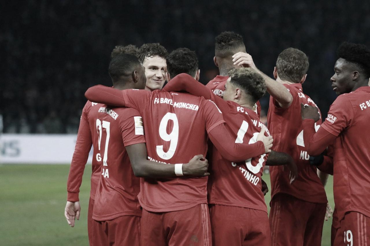 Bayern de Munique goleia Hertha Berlin e alcança segundo lugar da Bundesliga