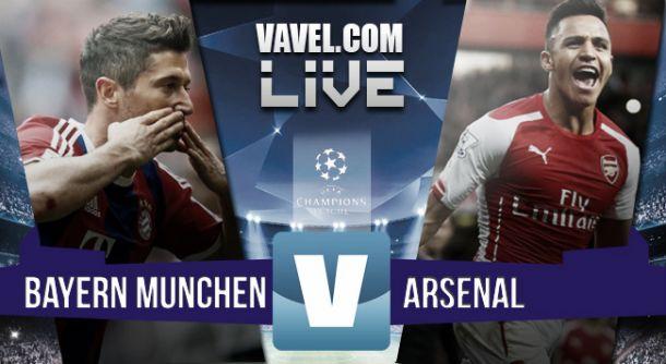 Risultato Bayern Monaco - Arsenal, Champions League 2015/16 (5-1): bavaresi dominanti, Gunners asfaltati