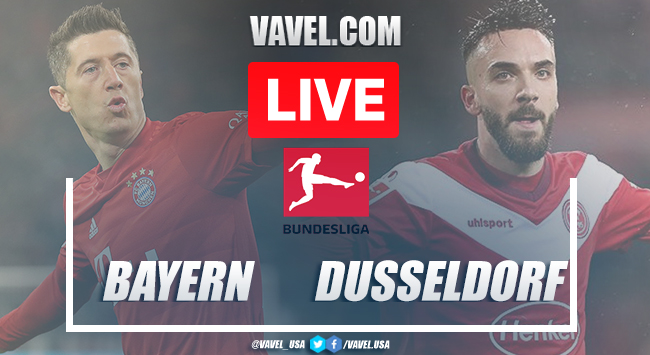 Goals and Highlights: Bayern Munich 5-0 Fortuna Dusseldorf in 2020 Bundesliga